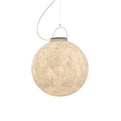 IN-ES.ARTDESIGN outdoor suspension lamp LUNA 2 OUT