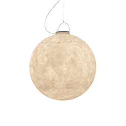 IN-ES.ARTDESIGN outdoor suspension lamp LUNA 3 OUT