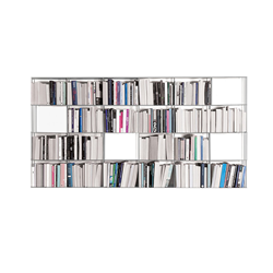 KRIPTONITE wall bookcases KROSSING 200 x H 100 cm