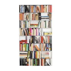 KRIPTONITE wall bookcases KROSSING 100 x H 200 cm
