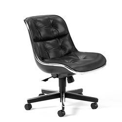 KNOLL armchair without arms POLLOCK EXECUTIVE
