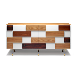 MOLTENI & C chest of drawers GIO PONTI D.655.1
