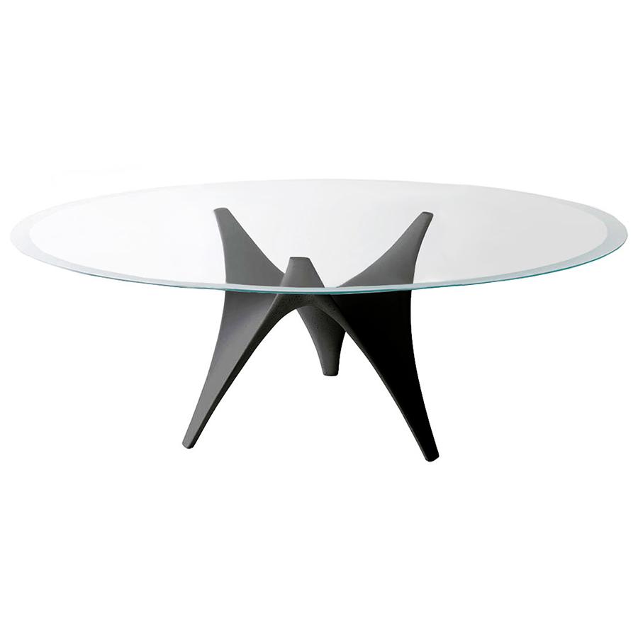Ovale Cmnoir Extraclair Molteniamp; C Et Verre Table Trasparente X 130 Ciment Arc 200 c5LRj3q4A