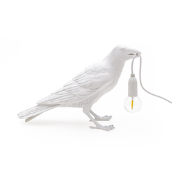 SELETTI table LED lamp BIRD LAMP WAITING