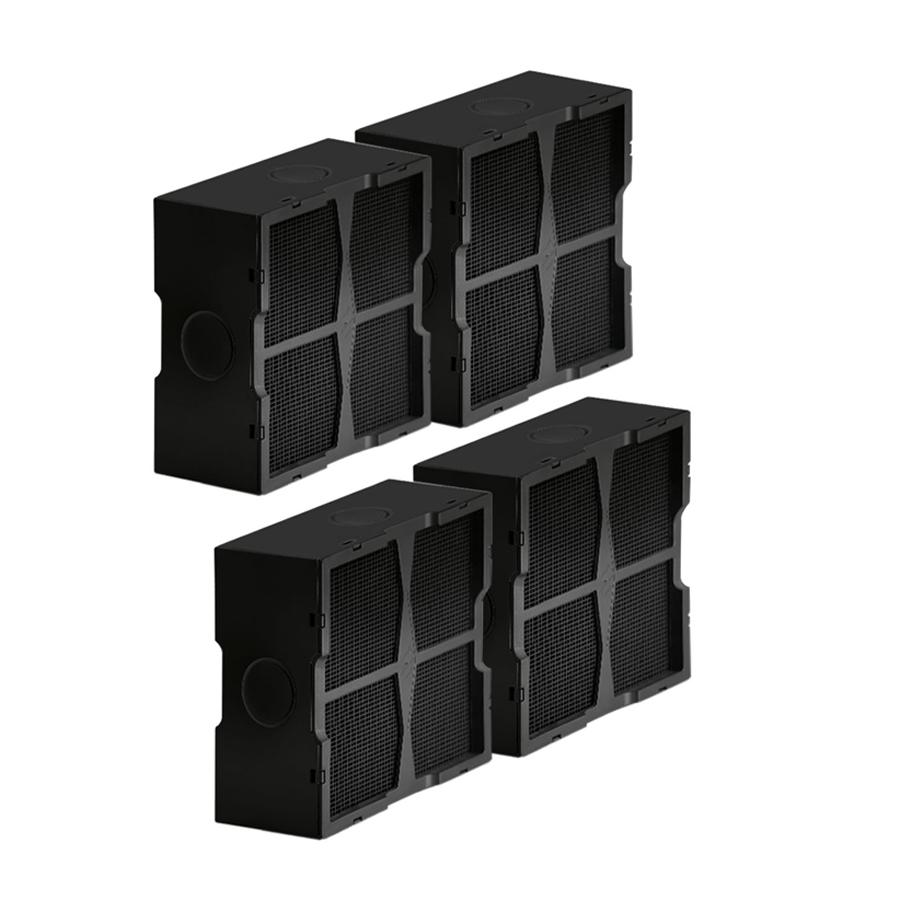 Piano Cottura Elica Prezzo elica set da 4 filtri ceramici per cappa filtrante nikolatesla kit0120952  (filtri ceramici - -)