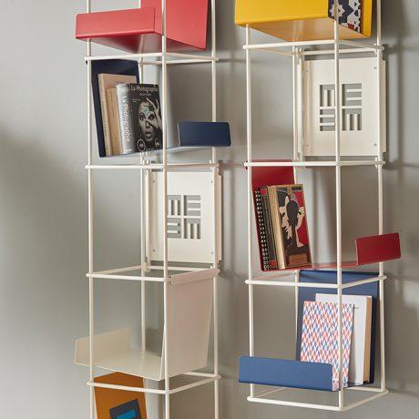 Libreria Verticale In Metallo.Meme Design Bibliotheque Murale Libreria Verticale Myareadesign It
