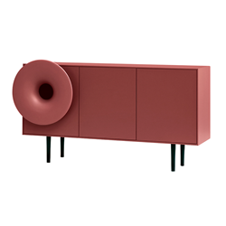 MINIFORMS cabinet with integrated audio system CARUSO XL