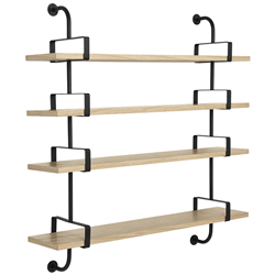 GUBI wall bookcase DEMON SHELF 4 shelves W 155 cm Matégot Collection