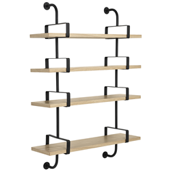 GUBI wall bookcase DEMON SHELF 4 shelves W 95 cm Matégot Collection