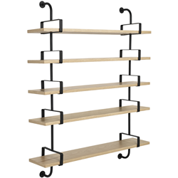 GUBI wall bookcase DEMON SHELF 5 shelves W 155 cm Matégot Collection