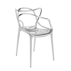 KARTELL chair MASTERS METAL PRECIOUS COLLECTION