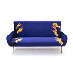 SELETTI sofa 3 places TOILETPAPER ARMCHAIR