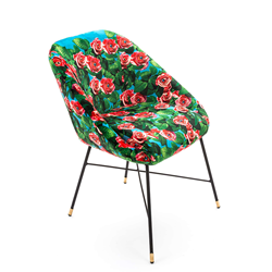 SELETTI padded chair TOILETPAPER PADDED CHAIR