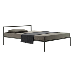ZANOTTA double bed NYX 1706 for a mattress size 160 x 200 cm