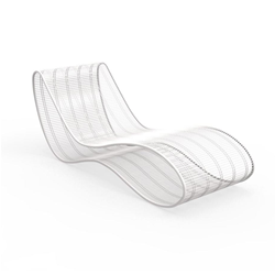 TALENTI outdoor sunbed chaise longue BREEZ Premium Collection