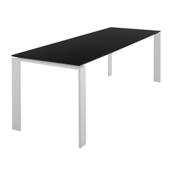KARTELL table FOUR SOFT TOUCH  dim. 223x72x79