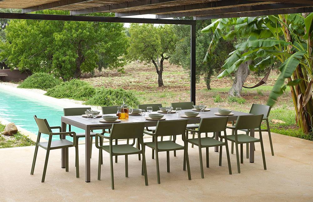 Nardi Tavoli Da Esterno.Nardi Outdoor Table Rio 210 Extensible Garden Collection