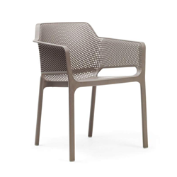 NARDI outdoor chair with arms NET