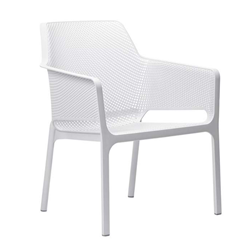 NARDI outdoor chair with arms NET RELAX