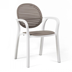 NARDI set of 2 outdoor armchairs GARDENIA GARDEN COLLECTION
