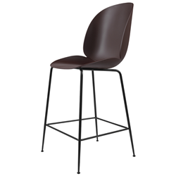 GUBI stool BEETLE COUNTER CHAIR with black base