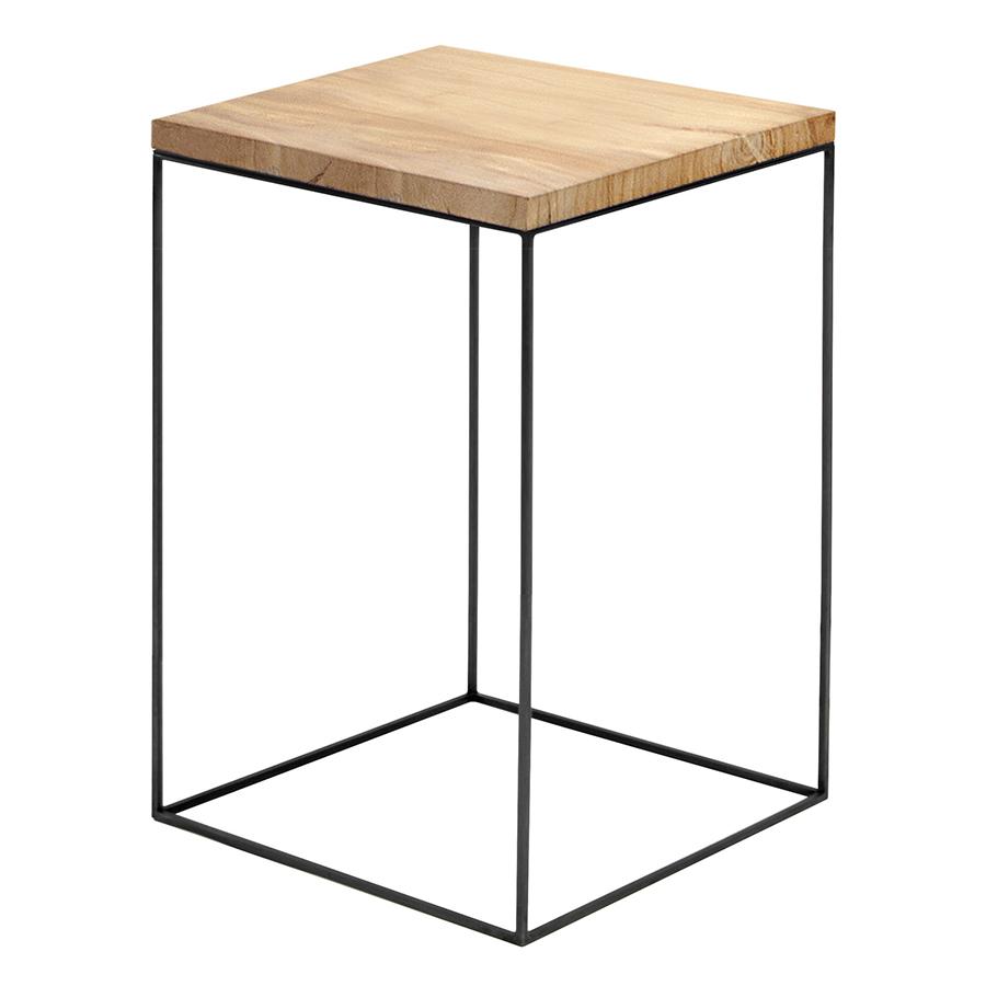 Zeus Square Coffee Table Slim Irony Low Table 41 X 41 Cm H 64 Cm