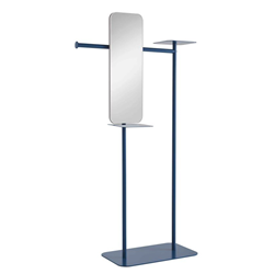 MEME DESIGN valet stand with mirror BABELE