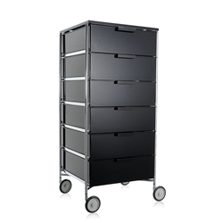 KARTELL cabinet with wheels and 6 drawers MOBIL