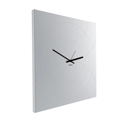 dESIGNoBJECT wall clock with square mirror NARCISO