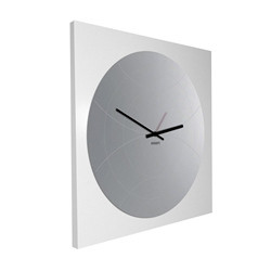 dESIGNoBJECT wall clock with round mirror NARCISO