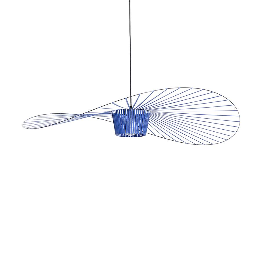 Ampoule Vertigo Petite Friture petite friture lampe à suspension vertigo (petit / cobalt - fibre de verre  et polyuréthane)
