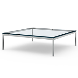 KNOLL coffee table FLORENCE KNOLL 120 x 120 x H 35 cm