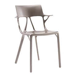 KARTELL set of 2 chairs with arms AI - THE FIRST CHAIR CREATED BY A.I.