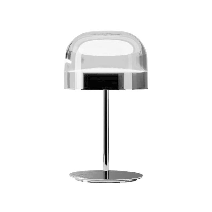 FONTANA ARTE lampada da tavolo EQUATORE SMALL (Cromo - Vetro e metallo)