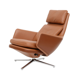 VITRA swivel lounge chair GRAND RELAX