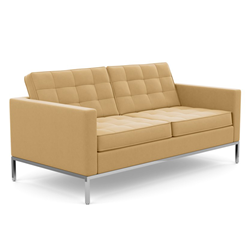 KNOLL sofa with 2 seaters FLORENCE in fabric