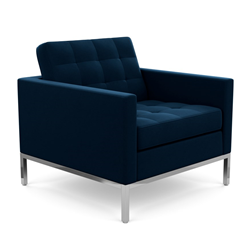 KNOLL armchair FLORENCE in fabric