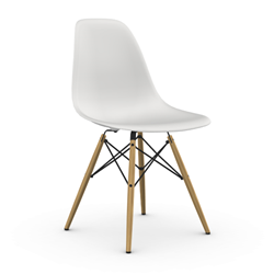 VITRA Eames Plastic Side Chair DSW NEW DIMENSIONS