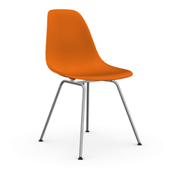 VITRA Eames Plastic Side Chair DSX NEW DIMENSIONS