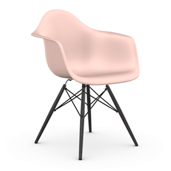 VITRA Eames Plastic Armchair with black base DAW NEW DIMENSIONS