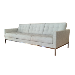 KNOLL sofa with 3 seaters FLORENCE RELAX