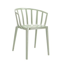 KARTELL set of 2 chairs with arms VENICE