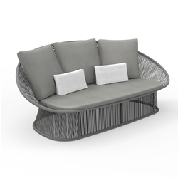 TALENTI outdoor 2 seater sofa ROPE PiùTrentanove Collection