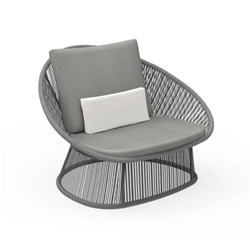 TALENTI outdoor armchair ROPE PiùTrentanove Collection
