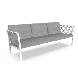 TALENTI outdoor 3 seater sofa SOFY PiùTrentanove Collection