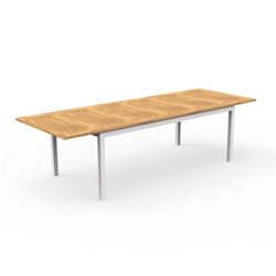 TALENTI outdoor extensible table 200-280 cm TIMBER PiùTrentanove Collection