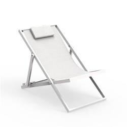 TALENTI outdoor deckchair TOUCH PiùTrentanove Collection