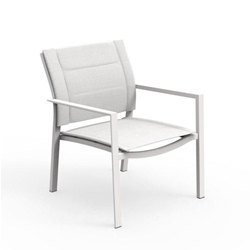 TALENTI set of 2 outdoor armchairs TOUCH PiùTrentanove Collection