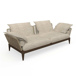 TALENTI outdoor 3 seater sofa CRUISE TEAK Icon Collection