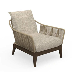 TALENTI outdoor armchair CRUISE TEAK Icon Collection